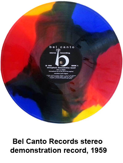 bel canto stereo demonstration record