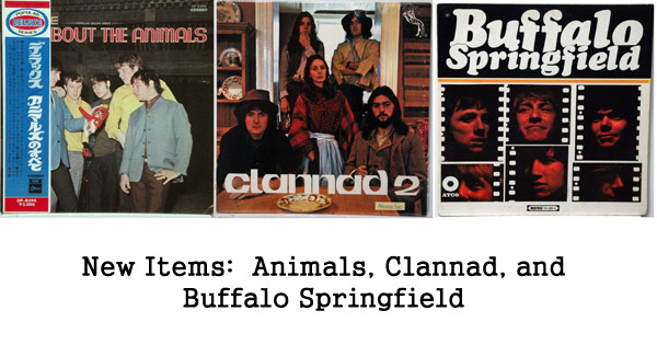 rare records: clannad, buffalo springfield, the animals