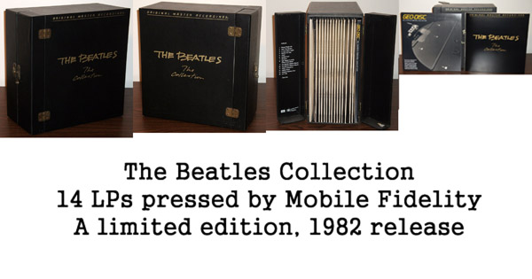 Mobile Fidelity Beatles Collection