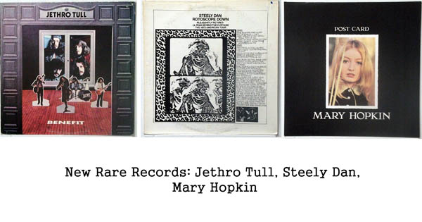 rare records: jethro tull, steely dan, mary hopkin