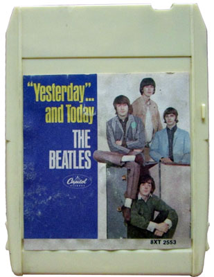 yesterday and today 8 track tape
