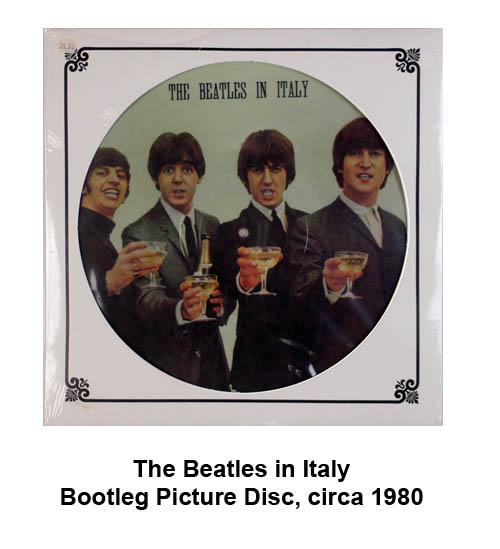 beatles bootleg picture disc