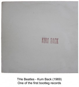 beatles kum back bootleg album