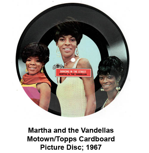 motown cardboard picture disc