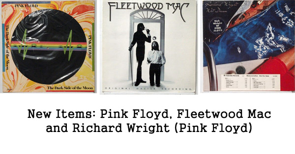 rare records: pink floyd, fleetwood mac, richard wright