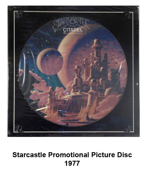 starcastle promotional picture disc