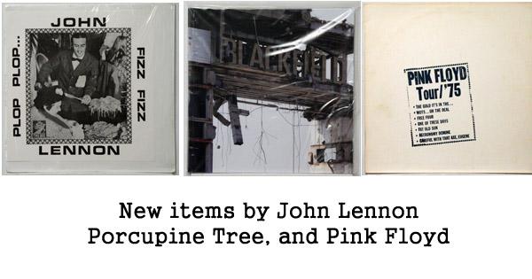 porcupine tree, pink floyd, john lennon