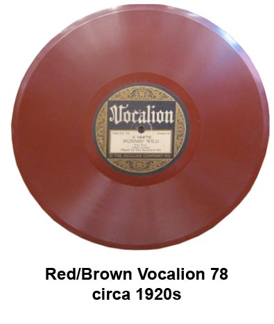 vocalion colored vinyl records