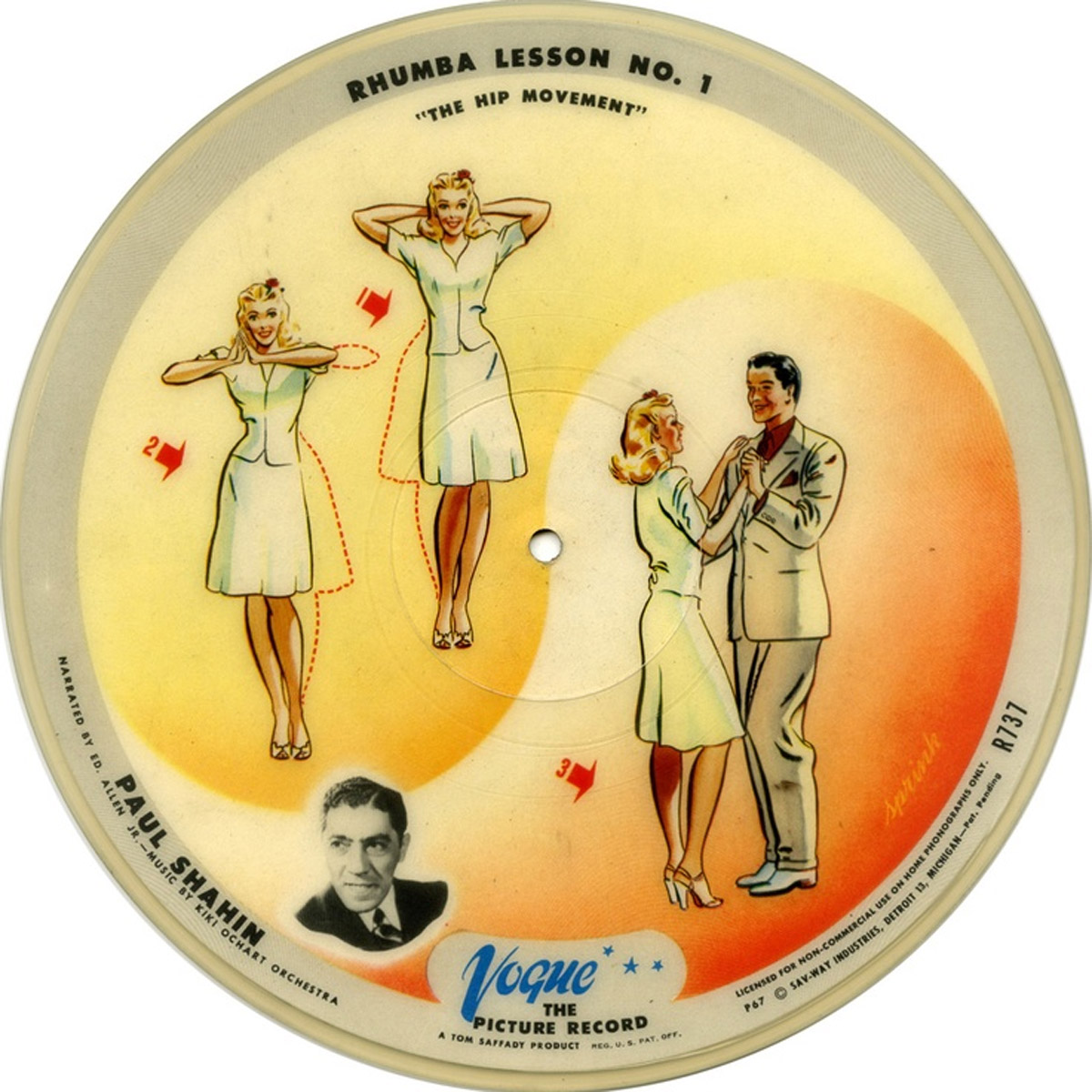 vogue picture disc Rare Records Rare Rock Jazz and R&B