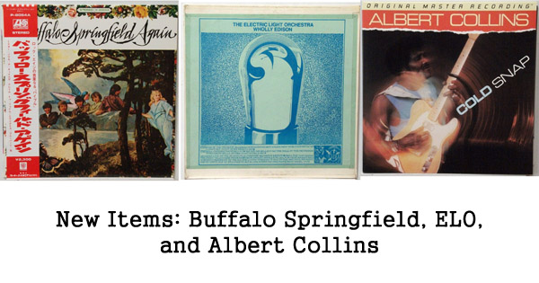 rare records: Buffalo Springfield, ELO, Albert Collins