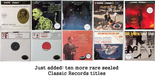 new rare classic records