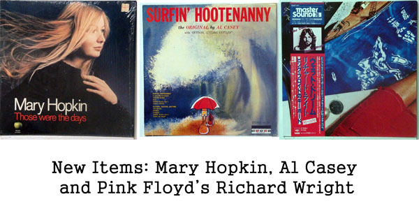 rare records: Mary Hopkin, Richard Wright, Al Casey