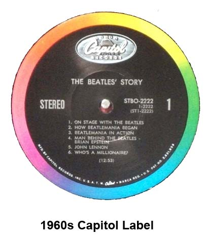 beatles albums capitol