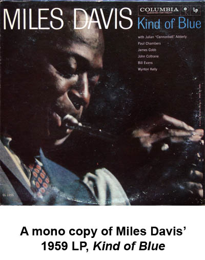 miles davis kind of blue mono