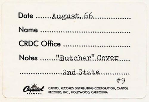 butcher cover archive sticker