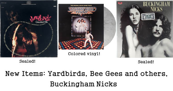 bee gees, yardbirds, buckingham nicks, willie nelson