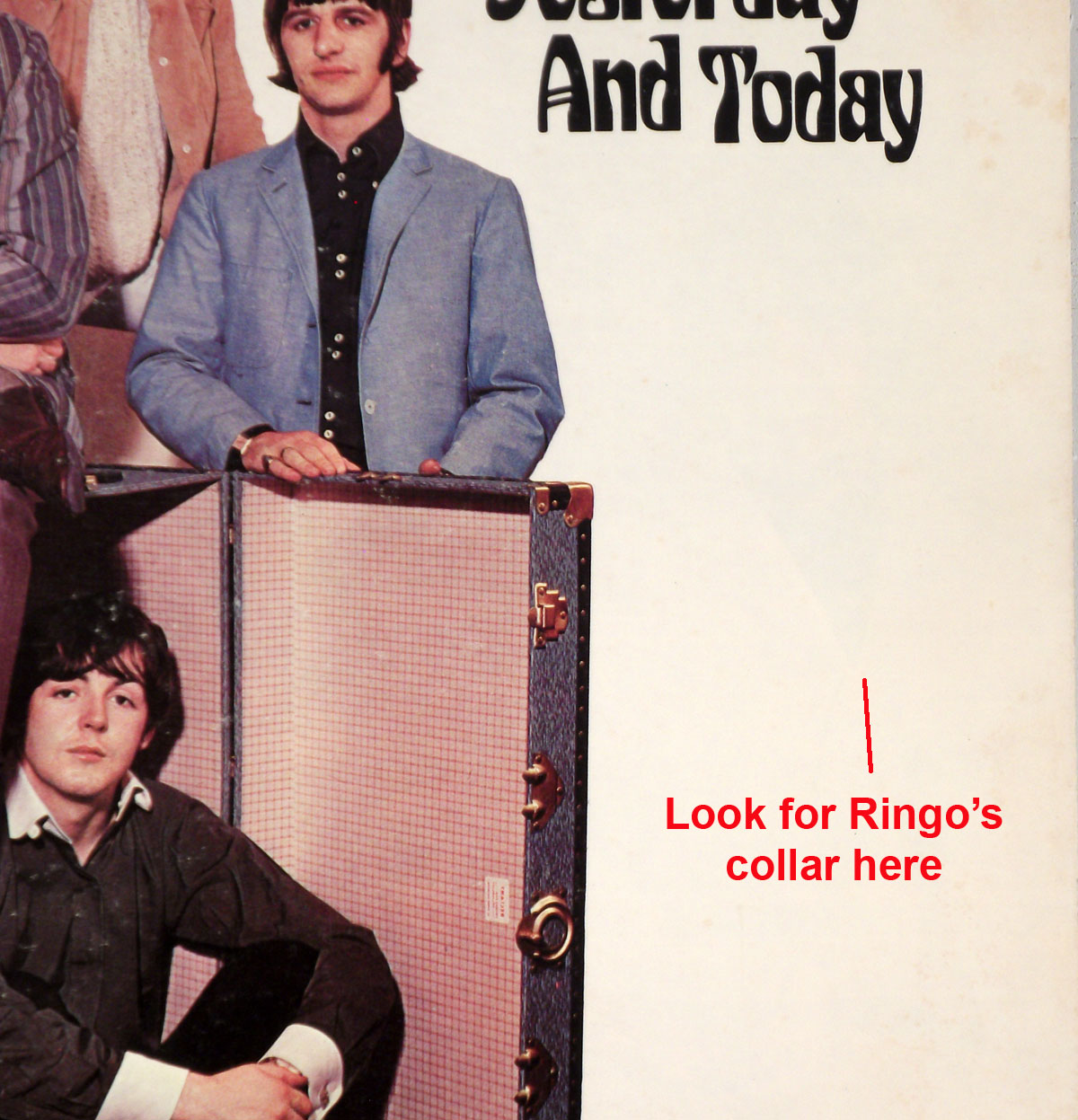 Butcher Cover Letter: The Beatles Yesterday And Today