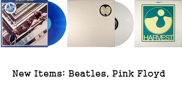 new items rare records beatles pink floyd