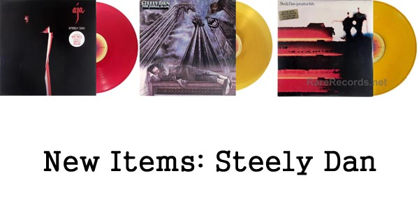 new items, rare records, steely dan