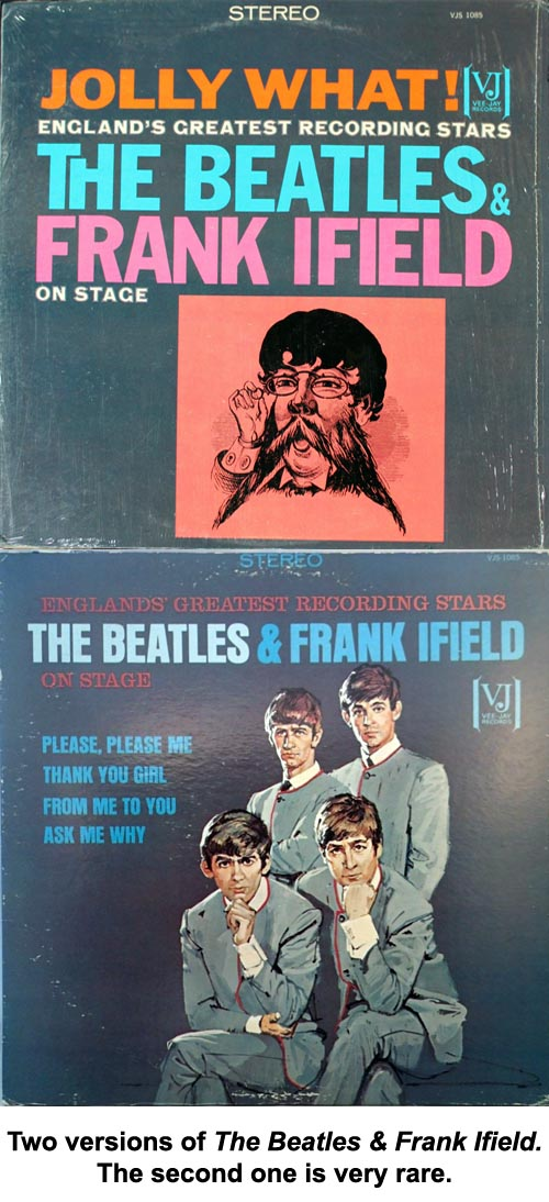 beatles frank ifield