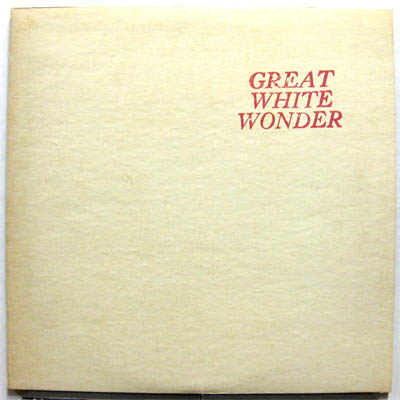 bootleg records - great white wonder