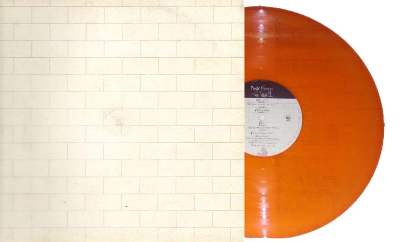 Orange vinyl The Wall from Italy