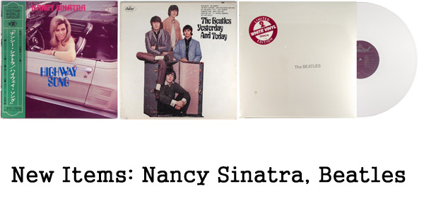 new items - nancy sinatra, beatles