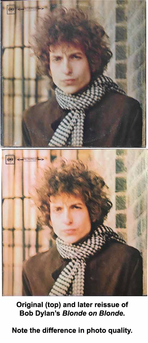 bob dylan = blonde on blonde