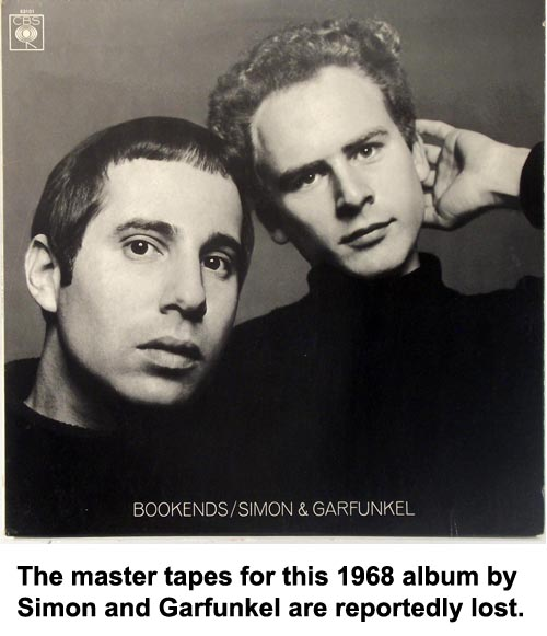 simon and garfunkel vintage vinyl records