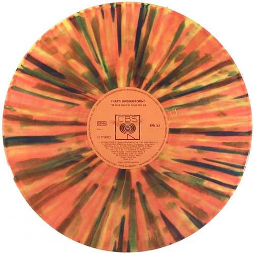 splatter vinyl