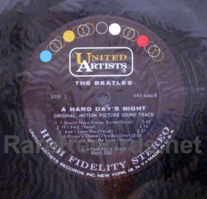 beatles - a hard day's night sealed u.s. stereo lp