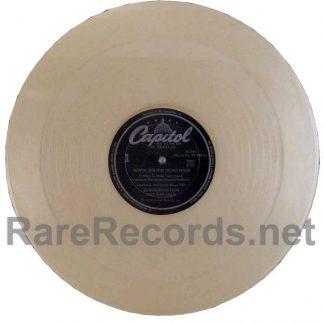 "beatles - komm gib mir deine hand clear vinyl promo 12"" single"