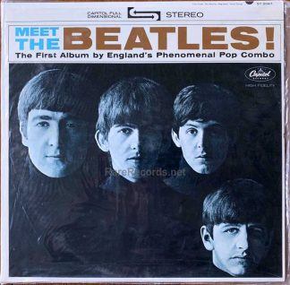 beatles - meet the beatles sealed stereo LP