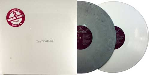 beatles white album experimental gray vinyl