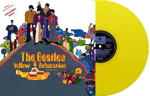 beatles yellow submarine yellow vinyl australia