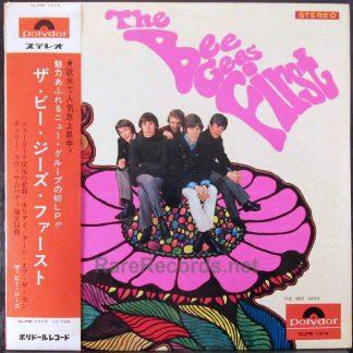 bee gees first japan LP obi