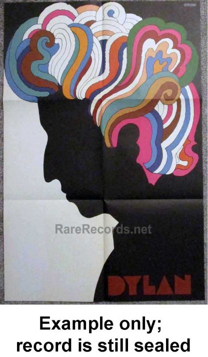 bob dylan - greatest hits poster