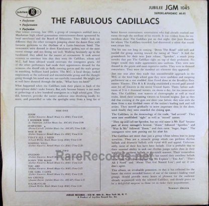 cadillacs - the fabulous cadillacs LP