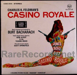 casino royale - german soundtrack LP