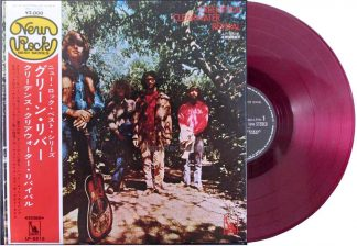 ccr - green river japan red vinyl lp