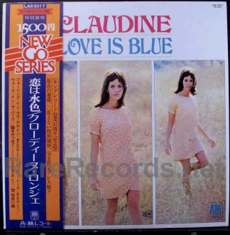 claudine longet - the look of love japan lp