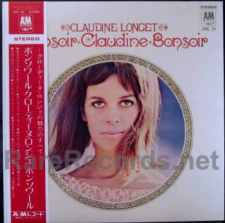 claudine longet - bonsoir claudine bonsoir japan LP