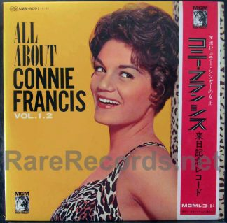 connie francis - all about connie francis japan lp