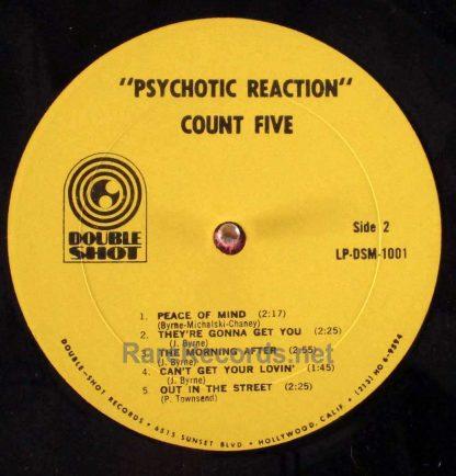 count five - psychotic reaction mono lp