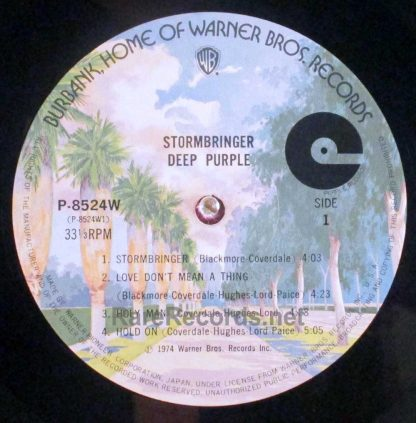 deep purple - stormbringer japan lp