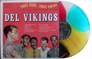 del vikings - they sing, they swing multicolored vinyl lp