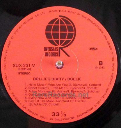 dollie - dollie's diary japan lp
