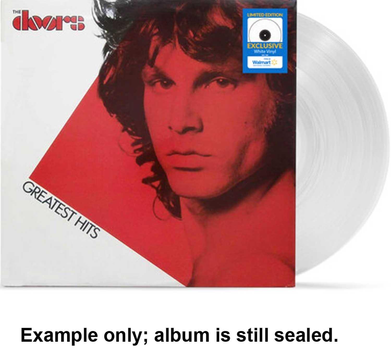 doors - greatest hits u.s. white vinyl lp
