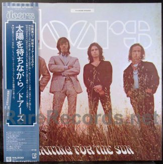 doors - waiting for the sun japan lp