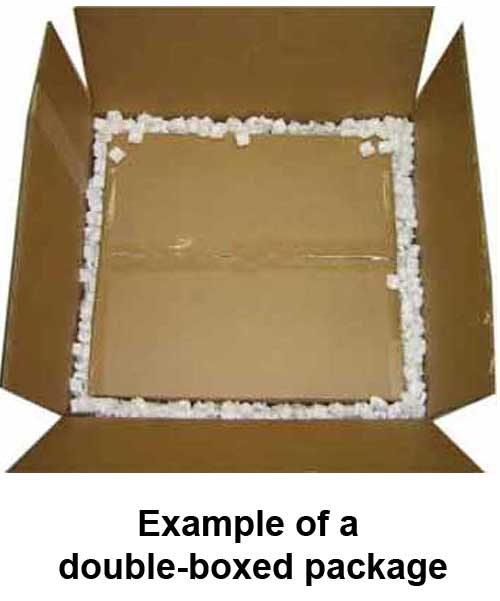 double-boxed package